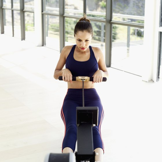 Rowing is a non-impact exercise involving all of your major muscle groups.