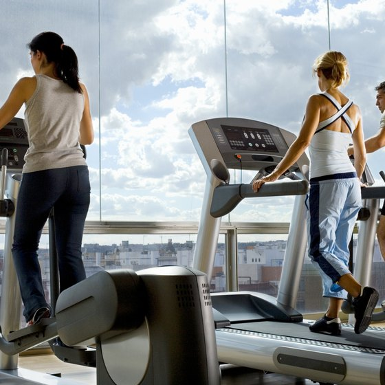 Stand up straight when using the elliptical trainer.