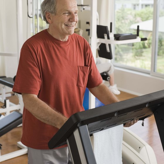 A treadmill is excellent for vigorously intense running or hill walking.