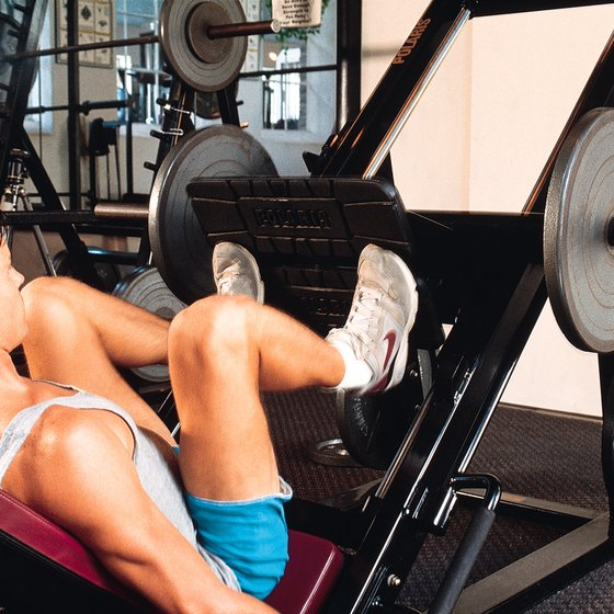 The leg press has a minimal effect on your inner thighs.