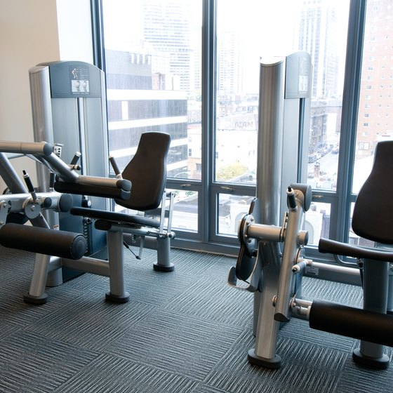 Use the leg extension machine to focus on strengthening your thighs at the knees.