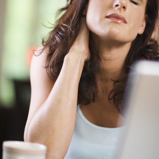 Strengthening your neck throughout the day can cut down on overall pain.
