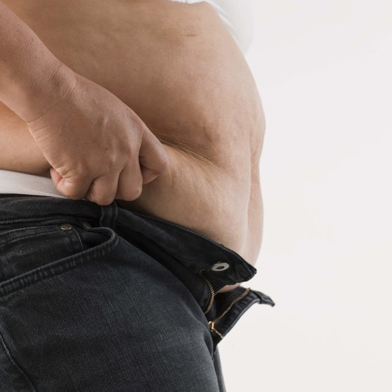 "Losing stomach fat involves the burning of a fat known as ""visceral fat."""