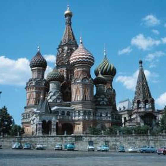 5 famous landmarks of russia getaway usa for Famous landmarks in russia