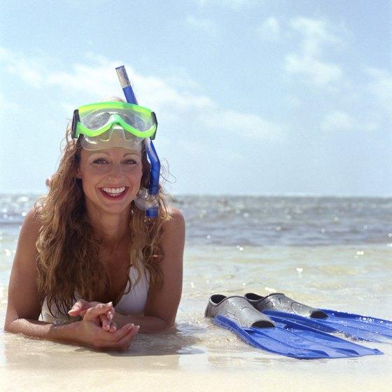 Snorkeling adventures await in Belize.