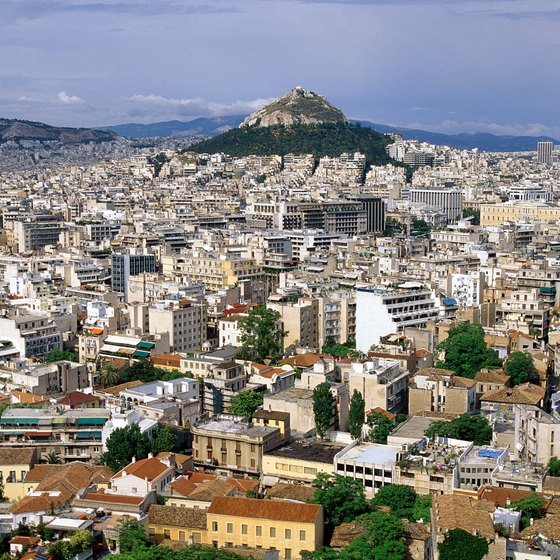 Democracy was first conceived in Athens, the Greek capital.