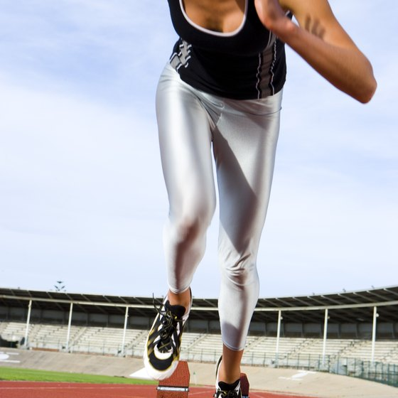 Sprinting is one example of a short burst exercise.