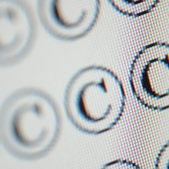 A C in a circle is widely used as a symbol for copyright protection.
