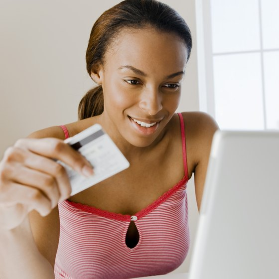 PayPal is an easy way to accept credit card payments online.