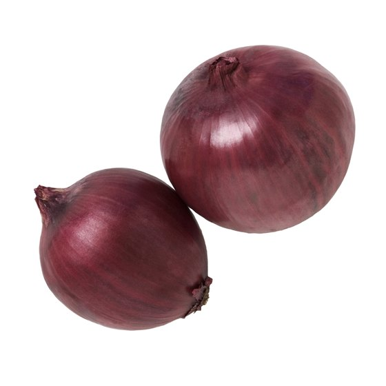 One cup of red onions contains 64 calories.