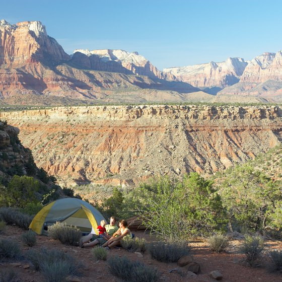 Dispersed camping in Arizona offers stunning scenery.