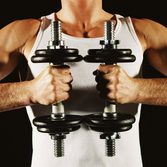 Dumbbells are versatile and can train the whole body.