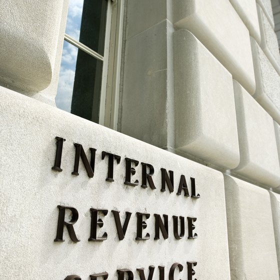 The IRS requires that contractors submit a W-9 form to the company using their services.
