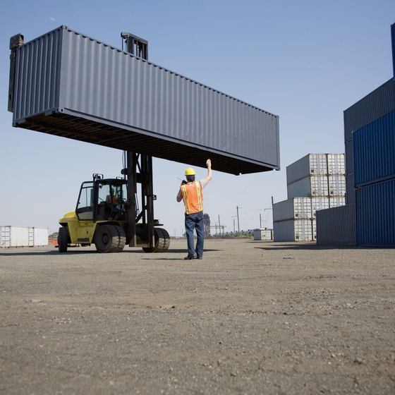 Cargo containers fall into two main categories.