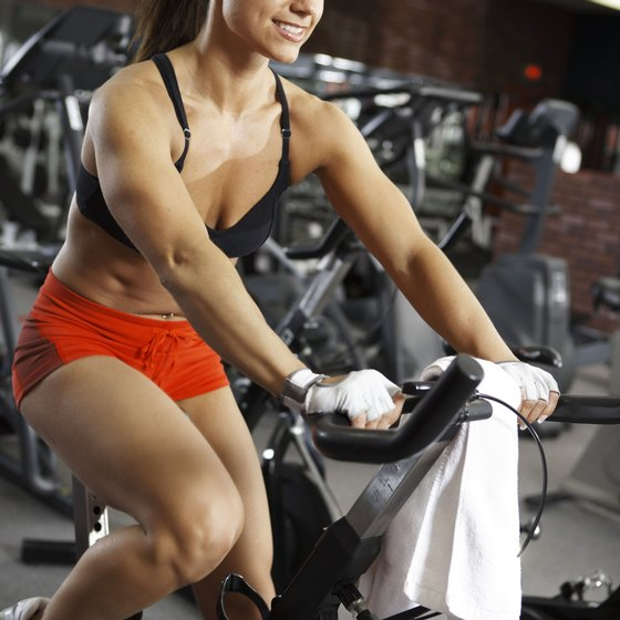 Sign up for a spinning class to add some fun to your workout.
