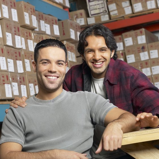 Instead of renting warehouses, some businesses use storage companies.