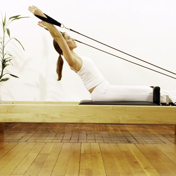 Pilates improves posture, flexibility and abdominal strength.