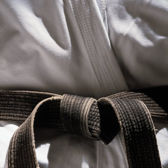 A black belt represents completeness.