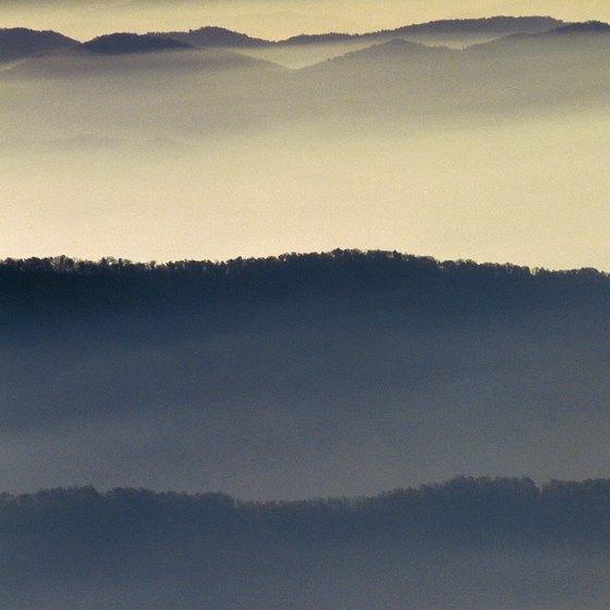 The Gatlinburg area serves as a gateway to Great Smoky Mountains National Park.