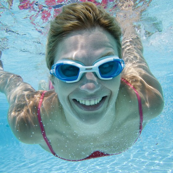 A proper fit is key to leak-free swim goggles.