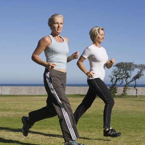 Start a running or walking training program at any age.