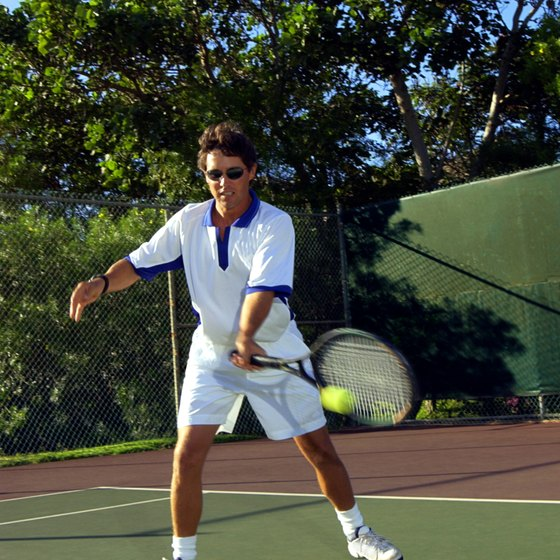 Increasing racket-head speed helps increase ball speed.