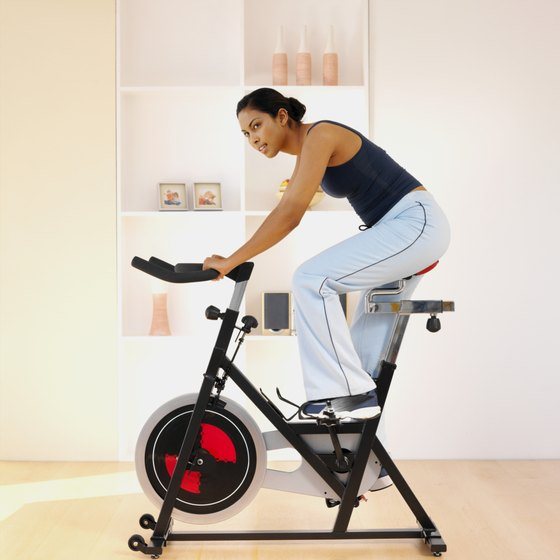 Stationary bikes come in multiple styles and feature a variety of options.