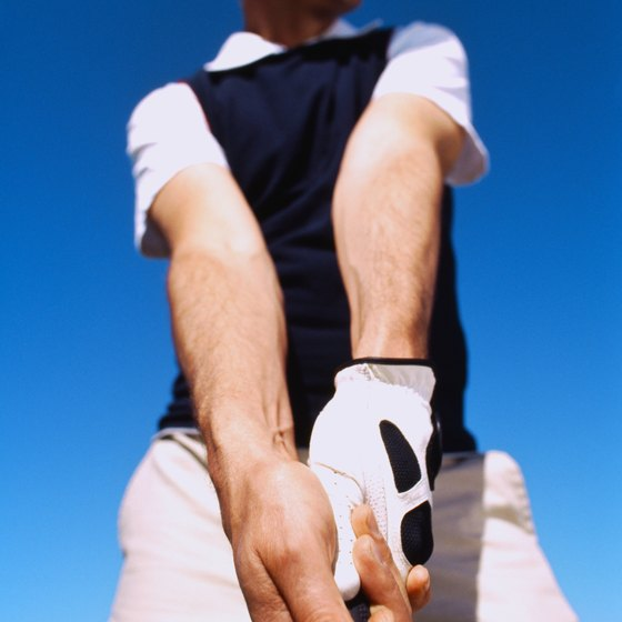 Having a strong grip is a fundamental aspect of both golf and tennis.