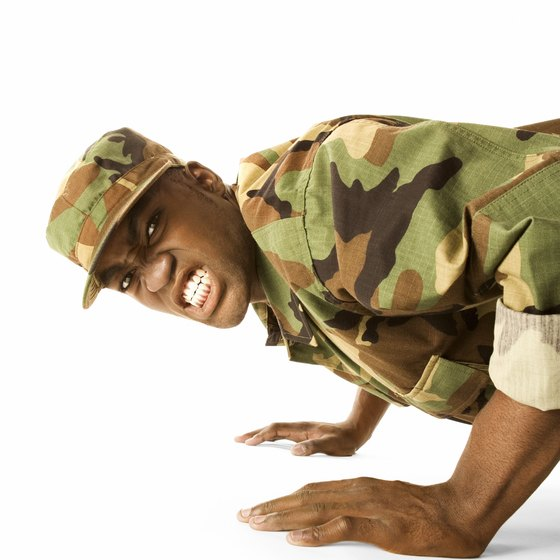 Military exercise routines will whip you into shape.