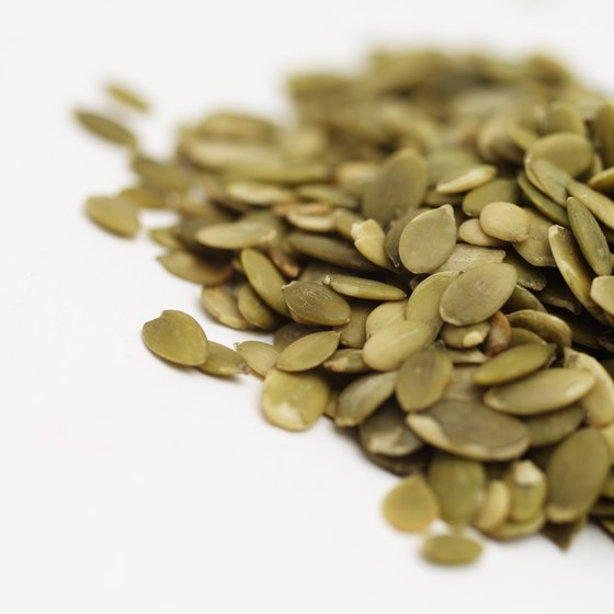 Pumpkin seeds may promote healthy liver function.