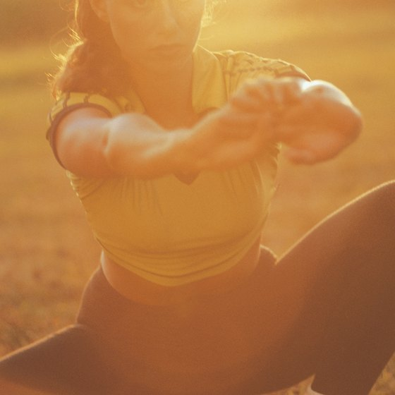 Evening exercise is a necessity for many whose busy schedules prevent daytime physical activity.