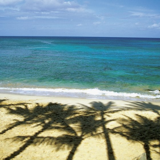 Mid-winter, temperatures reach the low 80s on most Hawaiian islands.