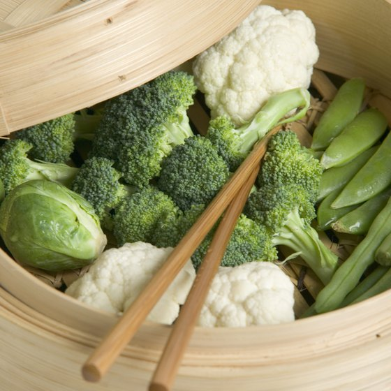 Steamed vegetables are eaten daily on the UltraSimple Diet Plan.