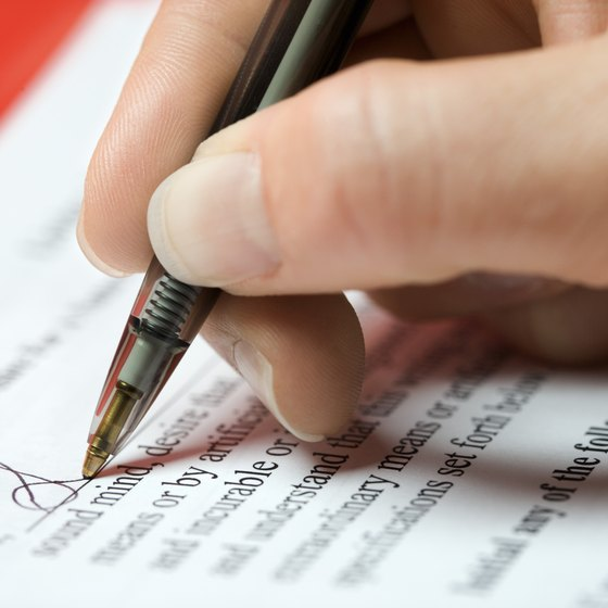 A contract with a collection agency should include cancellation terms.