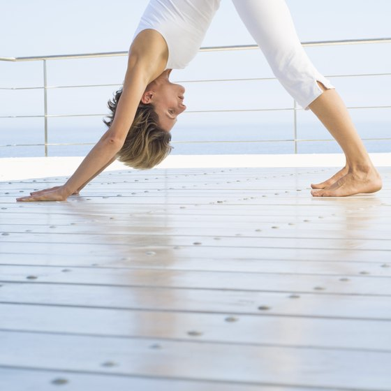 Ashtanga yoga is a challenging sequence of poses linked to the breath.