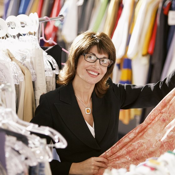 Clothing boutique owners purchase their products at wholesale prices.