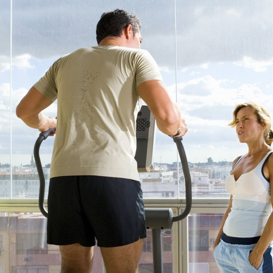 If you can chat, you probably aren't working hard enough to burn off your love handles.