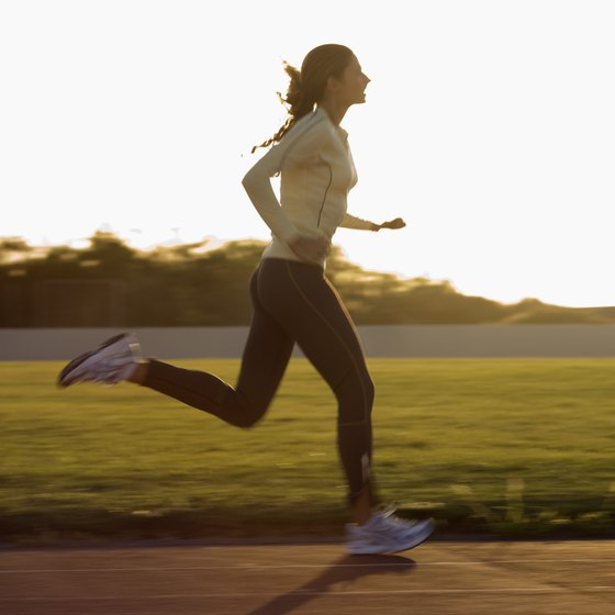 Tempo runs can help improve your anaerobic levels.