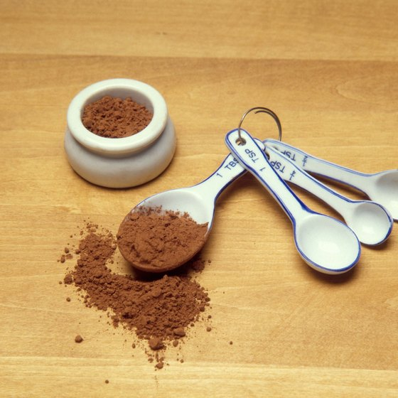 Unsweetened cocoa powder contains fiber, copper and phytonutrients that benefit your health.