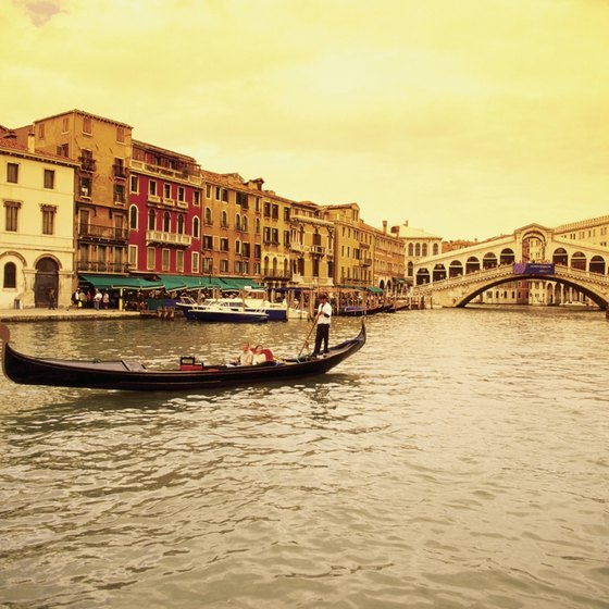 The canals of Venice are an iconic waterway of Italy.