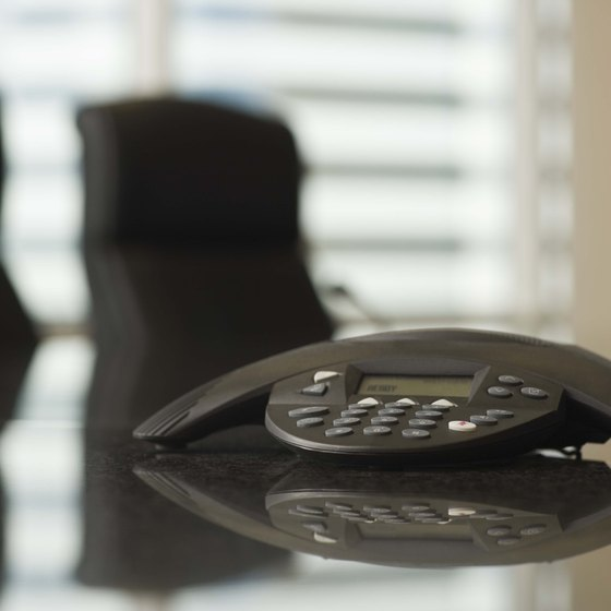 A Motorola RAZR can take the place of traditional conference call devices.