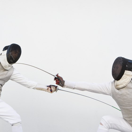 Fencing is a demanding sport that requires explosive power.