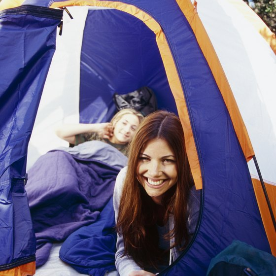 Camping sites in South Orange County are numerous.