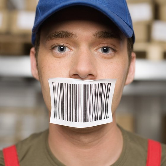 Many shipping labels are printed with thermal wax transfer printing technology.