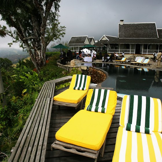 Strawberry Hill is one of Jamaica's more eclectic places to stay.