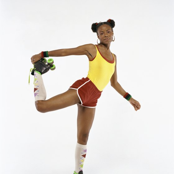 Roller skating regularly can help you burn fat throughout your body.