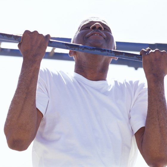 Chin-ups strain your shoulders less than pull-ups.