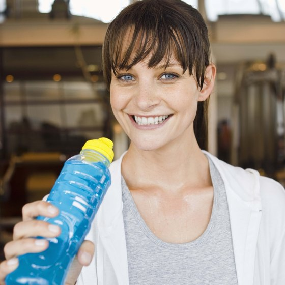 There are several good ways to restore lost nutrients after a workout.