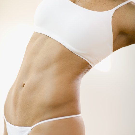 Elongate your torso by stretching your abdominal muscles regularly.