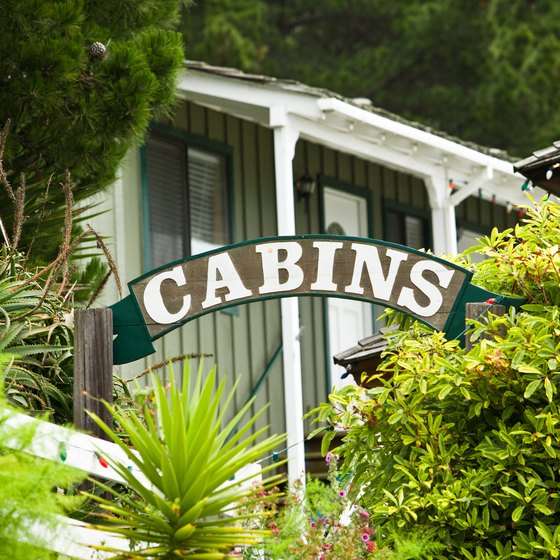 From the redwoods to the beach, a number of campgrounds with lodges and cabins exist near Palo Alto.